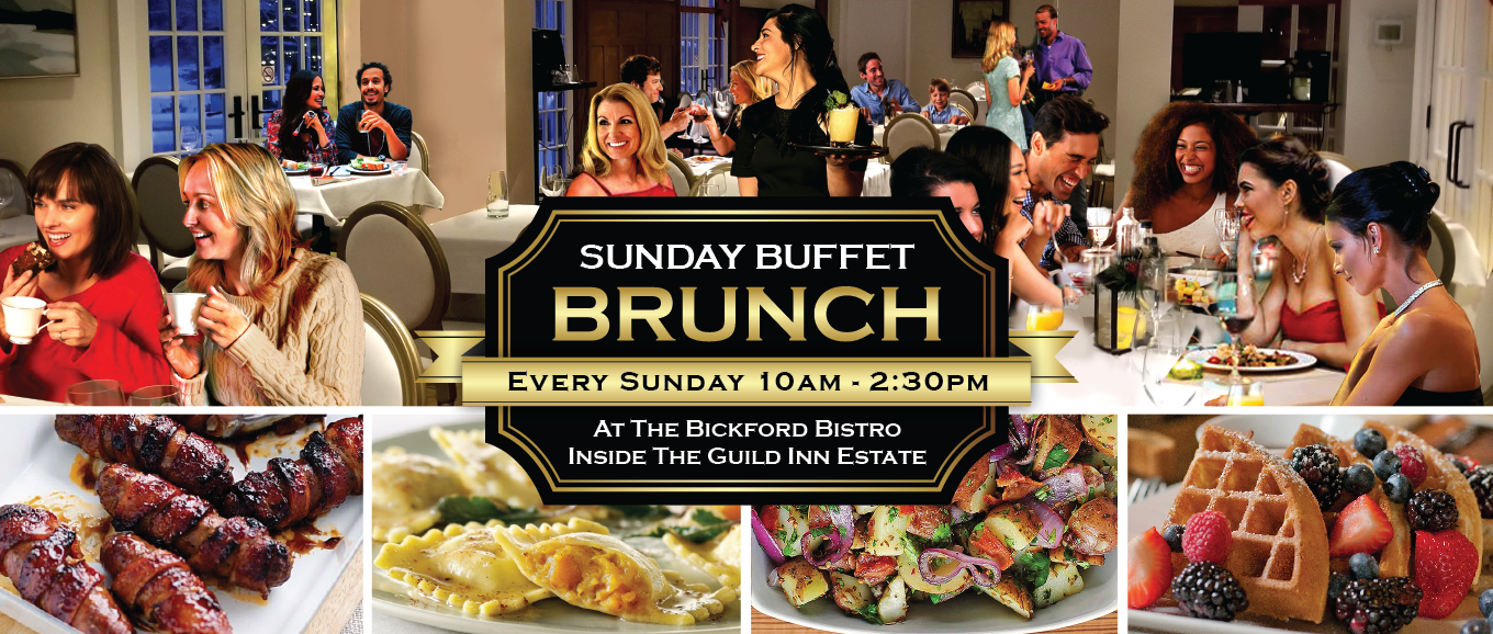 Sunday Brunch at the Bickford Bistro